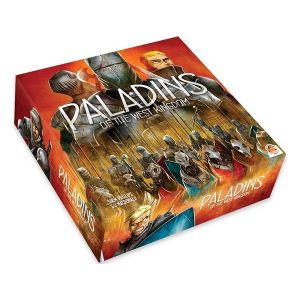 Paladins of the west kingdom speldoos 3D - Boxing meeples - board game shop