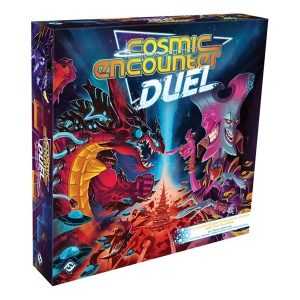Cosmic encounter duel speldoos 3D - Boxing meeples - board game shop