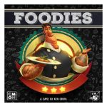 Foodies speldoos front - Boxing meeples - board game shop