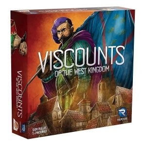 Viscounts of the West Kingdom speldoos 3D - Boxing meeples - board game shop