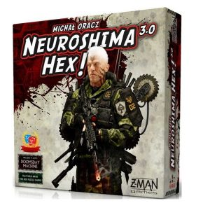 Neuroshima hex 3.0 speldoos 3D - Boxing meeples - board game shop