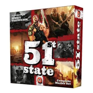 51st state speldoos 3D - Boxing meeples - board game shop