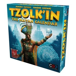 Tzolkin the mayan calendar speldoos 3D - Boxing meeples - board game shop