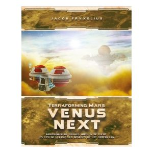 Terraforming Mars Venus next speldoos front - Boxing meeples - board game shop