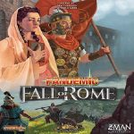 Pandemic: fall of Rome speldoos square - Boxing meeples - board game shop