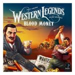 Western legends: blood money speldoos square - Boxingmeeples - boardgameshop