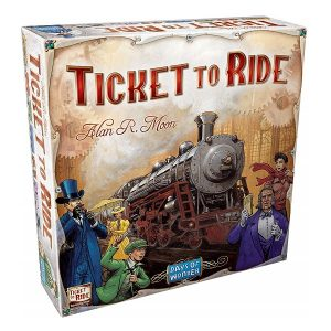 Ticket to ride speldoos 3D - Boxingmeeples - boardgameshop