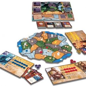 Spirit island componenten - Boxingmeeples - board game shop