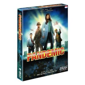 Pandemic NL speldoos 3D - Boxingmeeples - board game shop