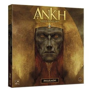 Ankh: gods of egypte - pharaoh speldoos 3D - Boxingmeeples - board game shop